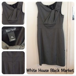 White House Black Market Plus Size Work Dress